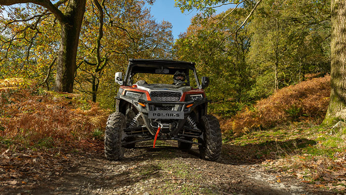 Polaris General 1000 EPS Deluxe - DELUXE FEATURES FOR THE TRAIL & WORK